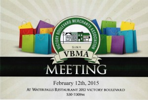 Next Merchants Association Meeting