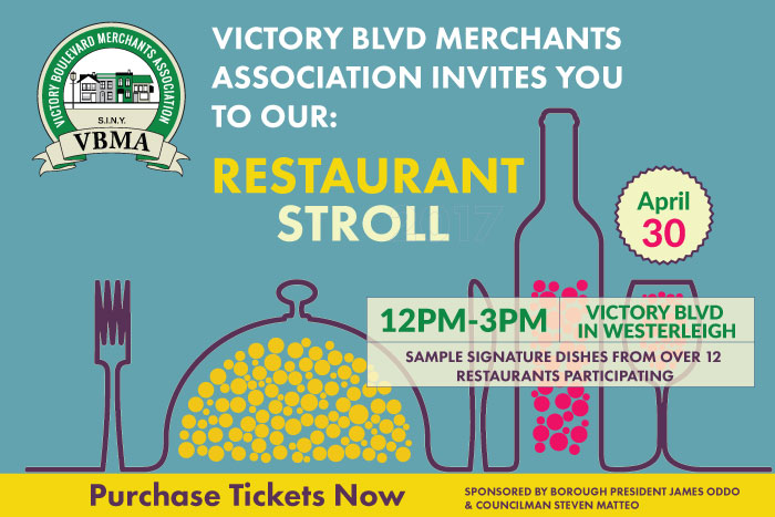 Third Annual Restaurant Stroll